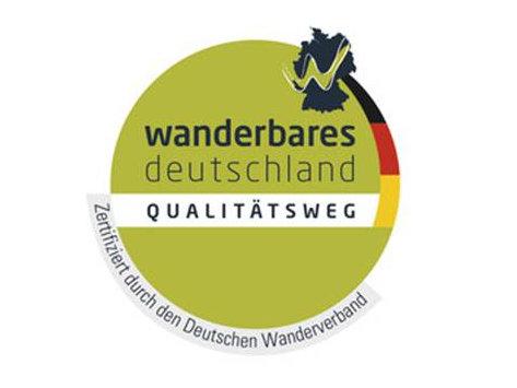 Siegel Qualitätswanderweg Deutscher Wanderverband