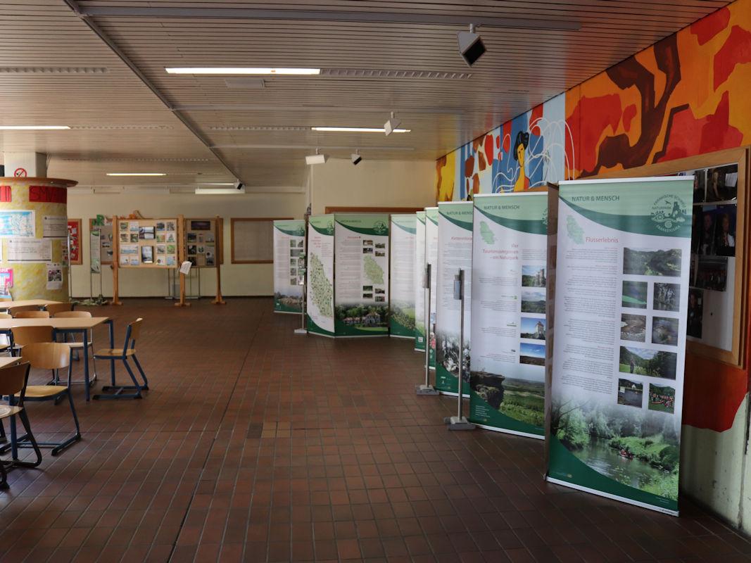 Wanderausstellung des Naturparks Fränkische Schweiz - Frankenjura