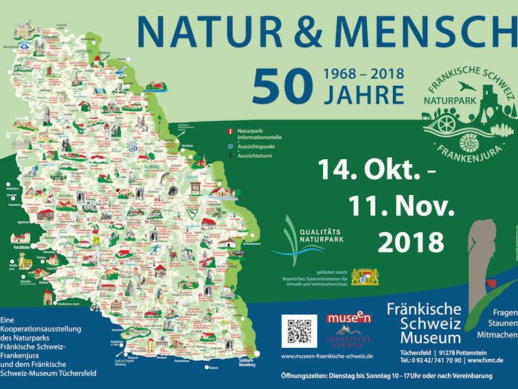 Sonderausstellung 50 Jahre Naturpark