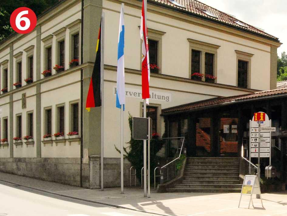 Geschäftsstelle des Naturparks Fränkische Schweiz - Frankenjura in Pottenstein
