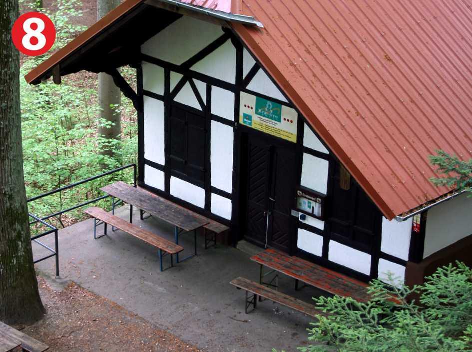 Infostelle Grottenhof im Naturpark Fränkische Schweiz - Frankenjura