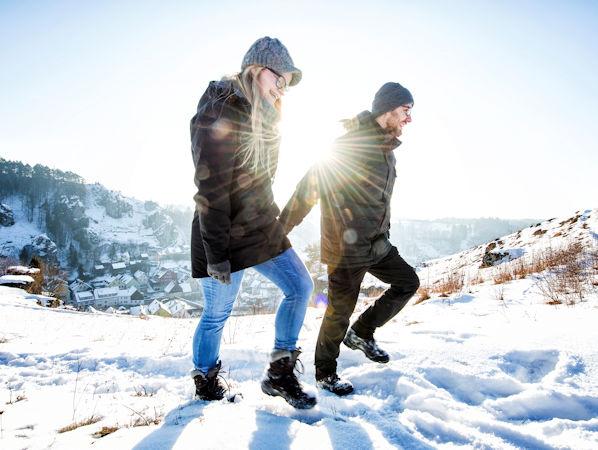 Winterwandern im Naturpark