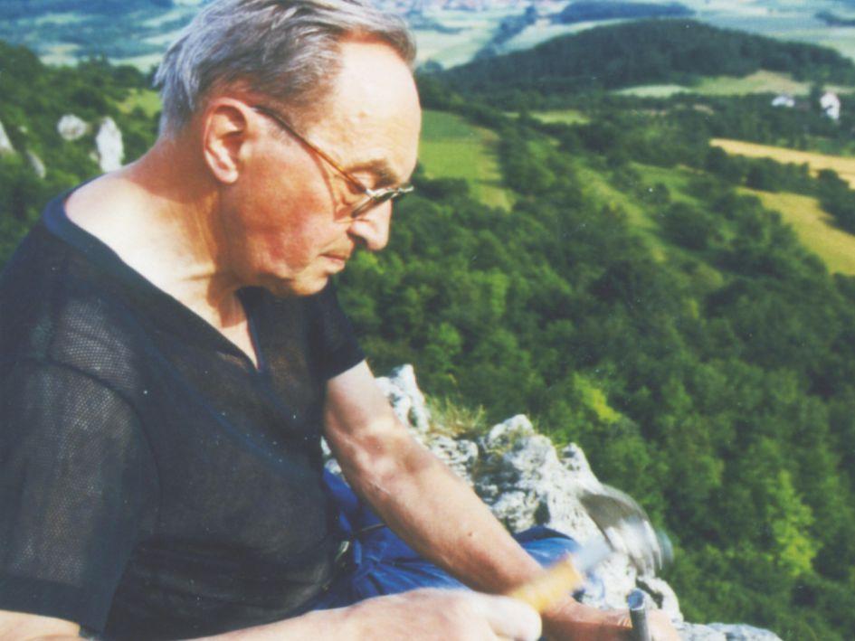 Oskar Bühler in der Fränkischen Schweiz