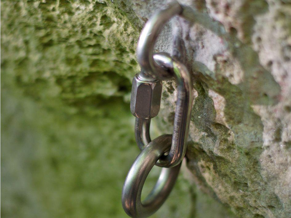Umlenkbühler mit Kettenglied und Ring