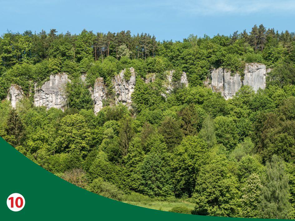 Kletterkonzepte im Naturpark Fränkische Schweiz - Frankenjura ©reinhold möller