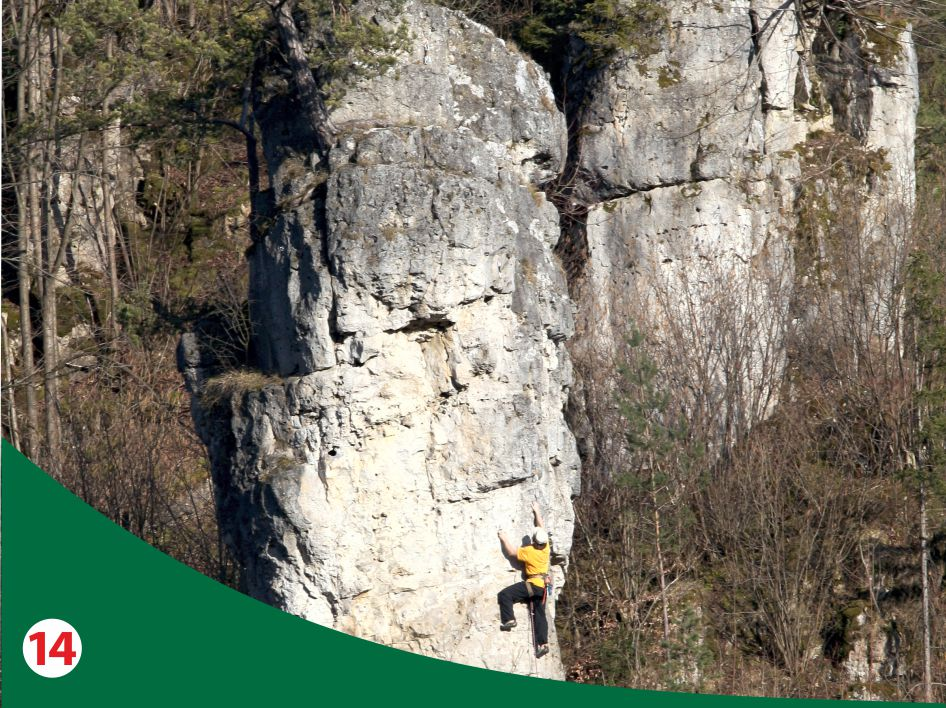 Kletterkonzepte im Naturpark Fränkische Schweiz - Frankenjura ©torsten scheller