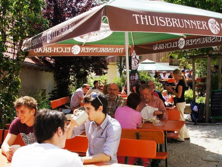Im Thuisbrunner Elchbräu