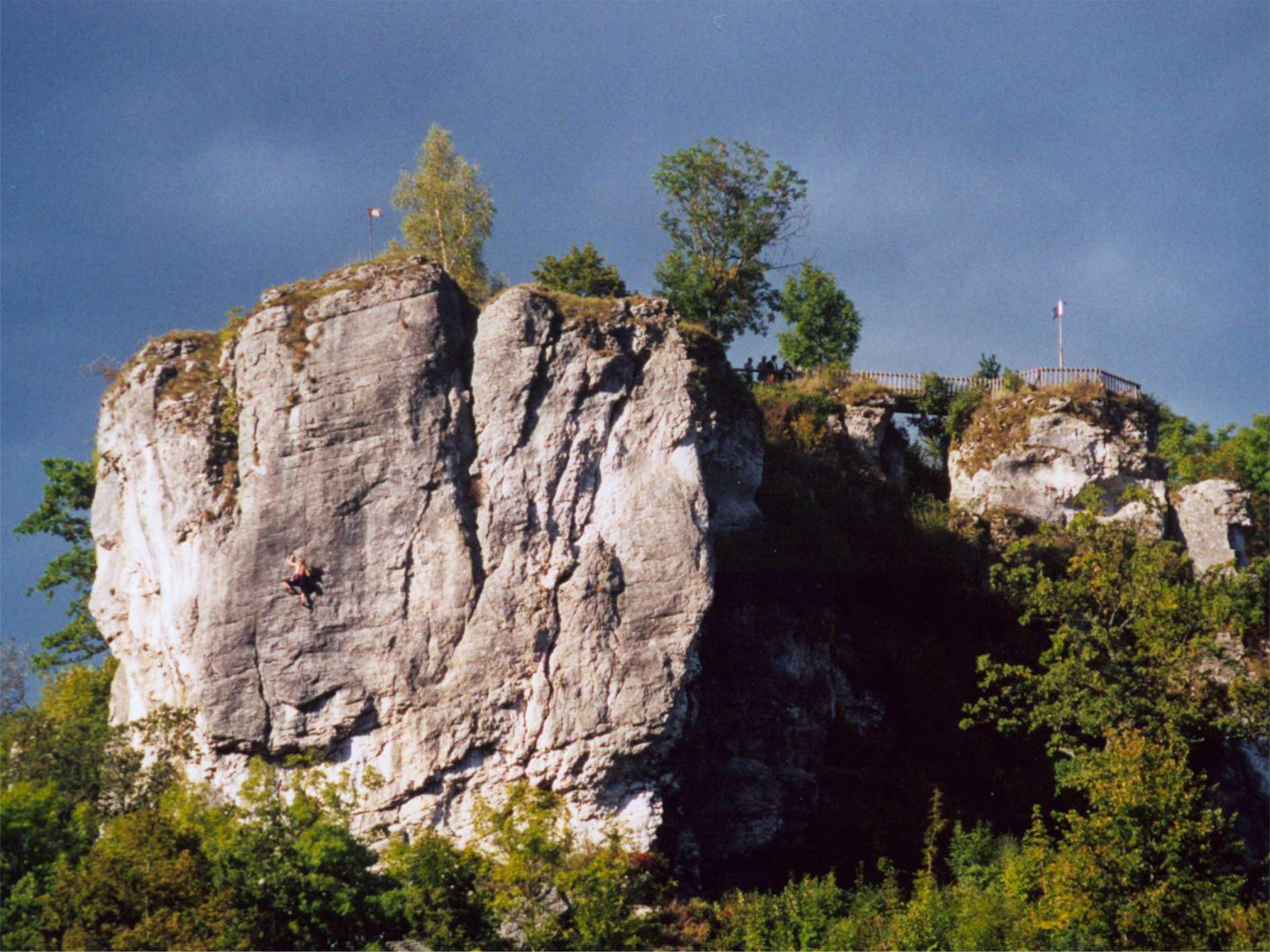 Streitberger Schild im Naturpark Fränkische Schweiz - Frankenjura