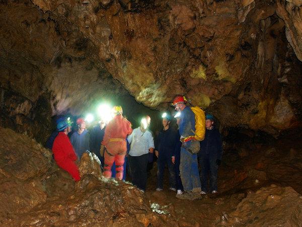 Höhlenforscher im Naturpark