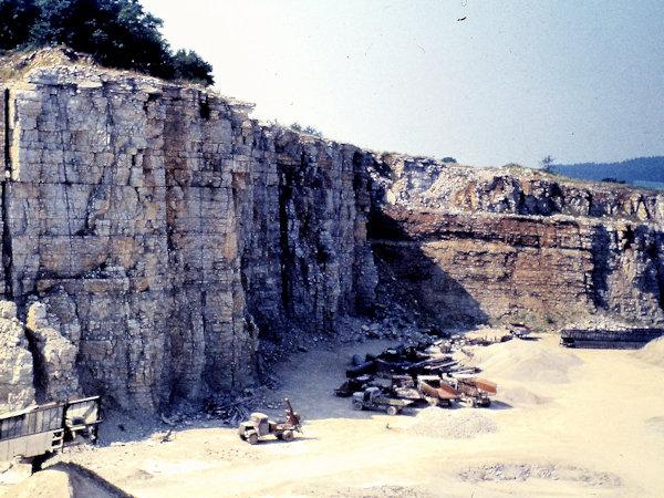 Steinbruch im Naturpark