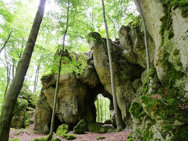 Felstor am Buchenberg bei Gößweinstein