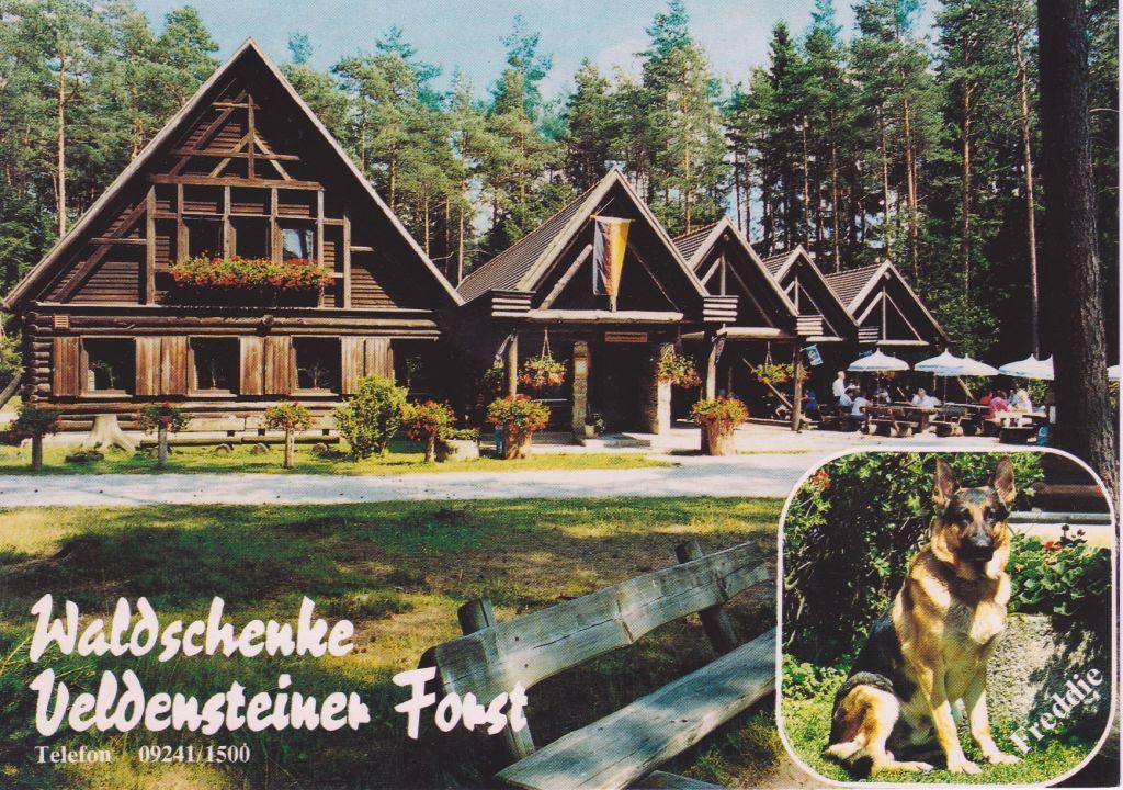 Waldschänke beim Wildgehege im Veldensteiner Forst wurde ...