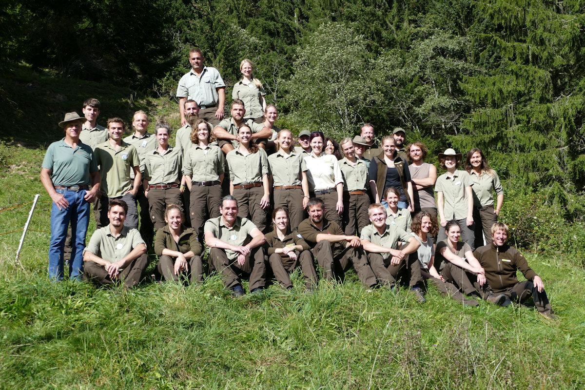 Bayerisches Rangertreffen im Naturpark Nagelfluhkette Anfang Oktober
