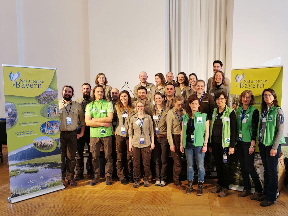 Erfolgreicher Austausch zwischen den Naturpark-Rangern und Gebietsbetreuern im Maximilianeum