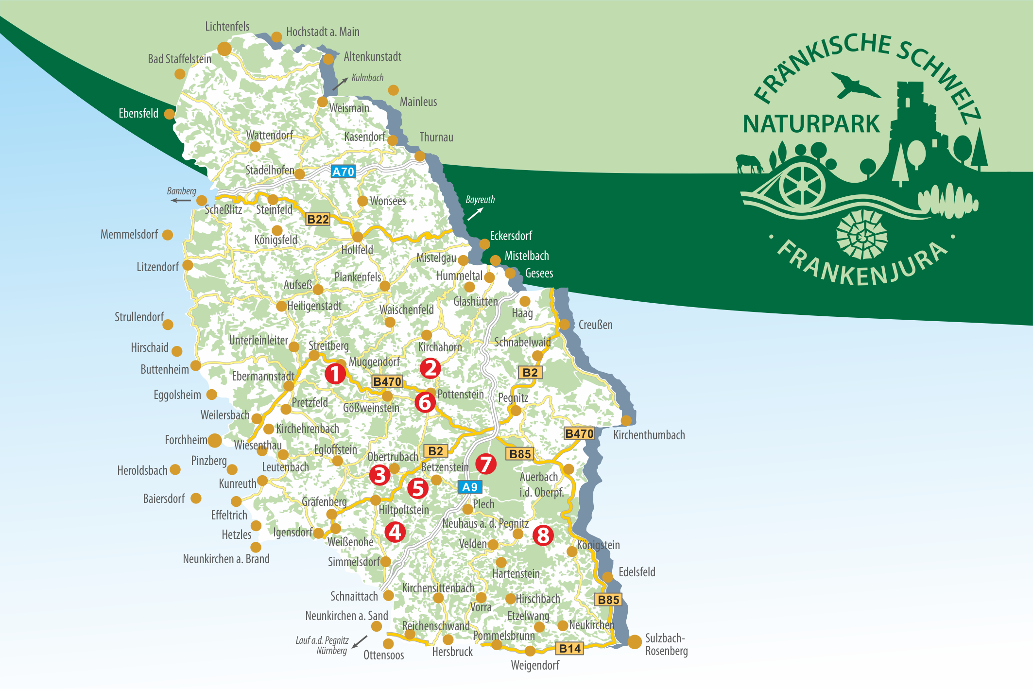 Naturparkkarten