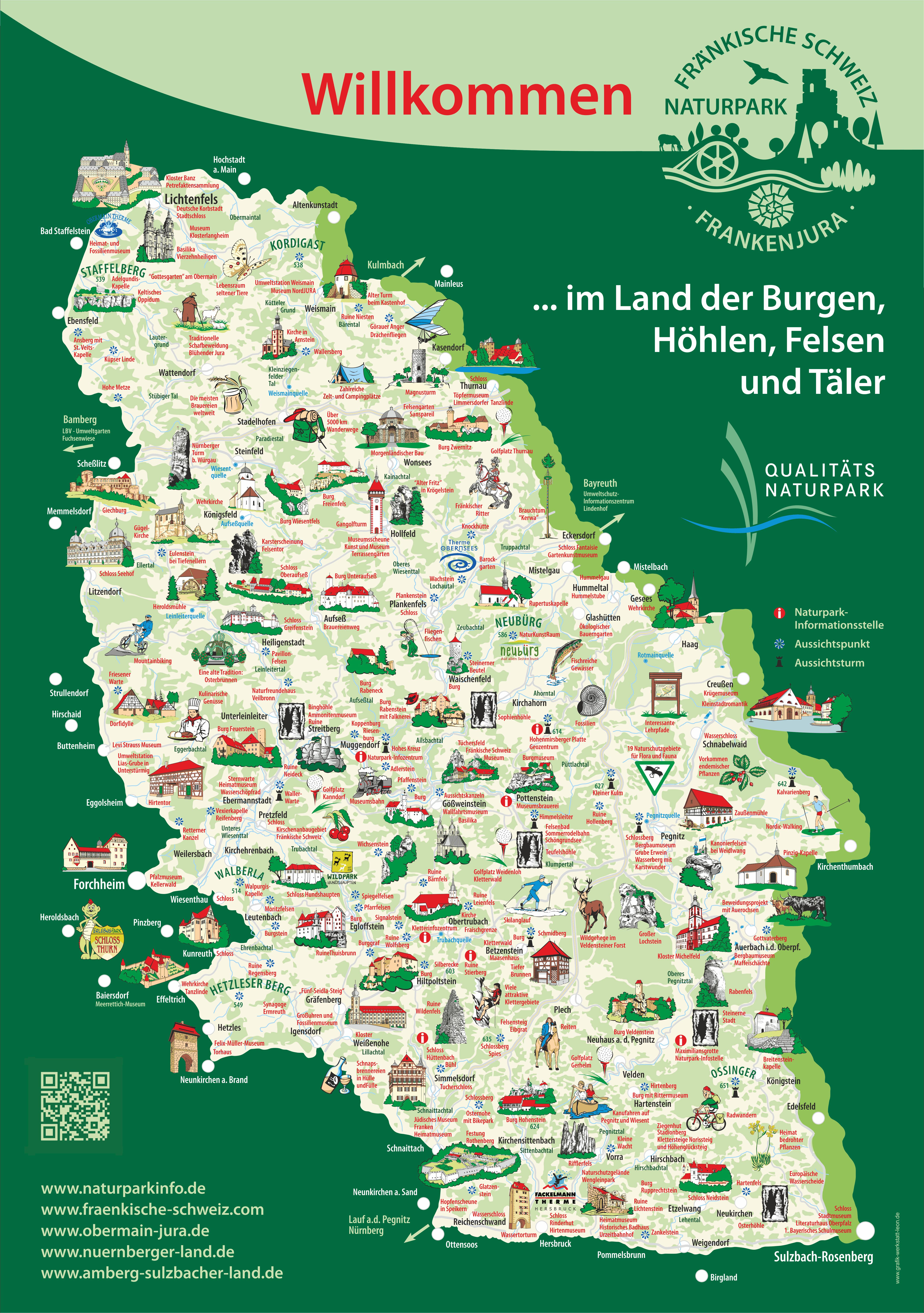 Willkommen im Naturpark (Karte)