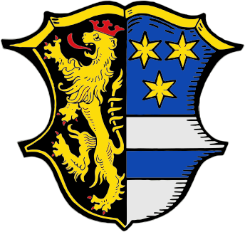 Wappen Landkreis Neustadt a. . Waldnaab