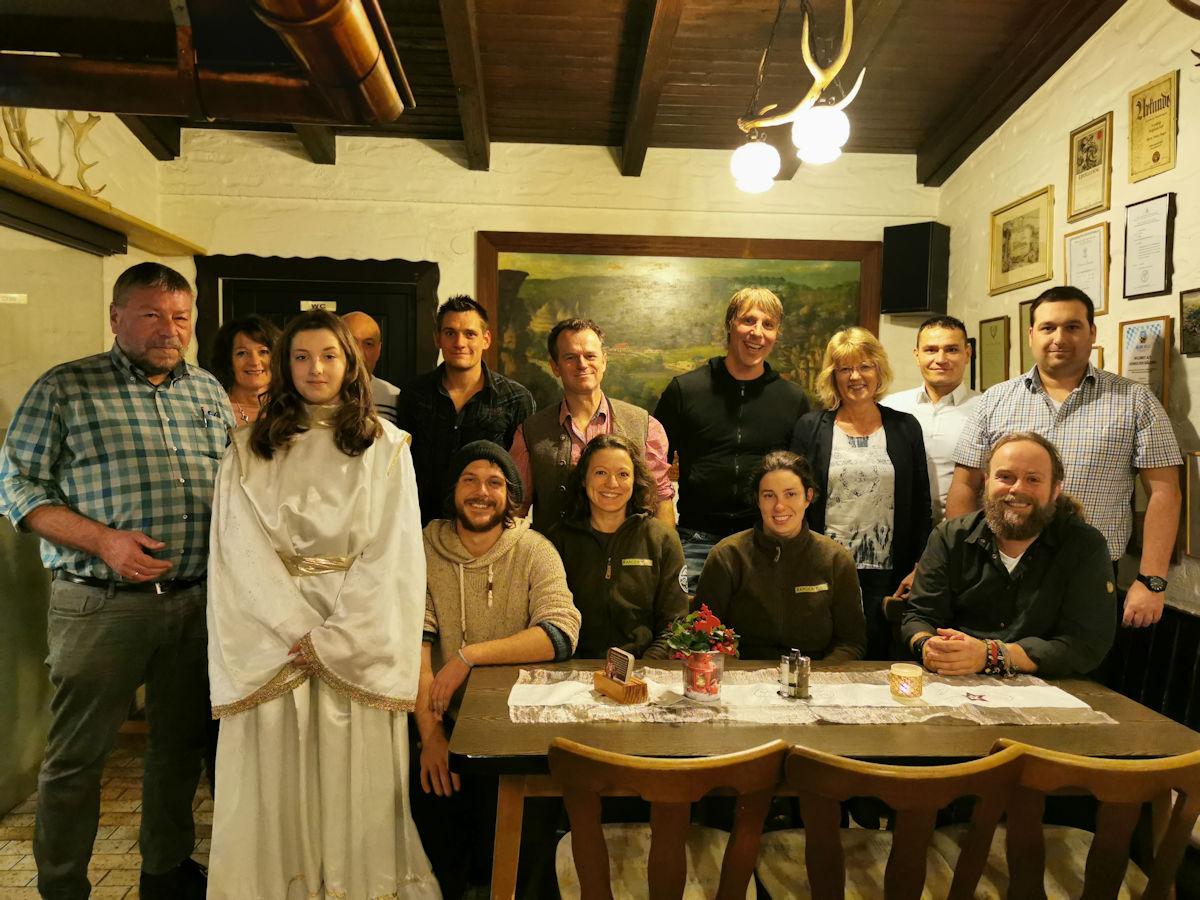 Alle Mitarbeiter vom Naturpark Fränkische Schweiz - Frankenjura auf einen Blick!