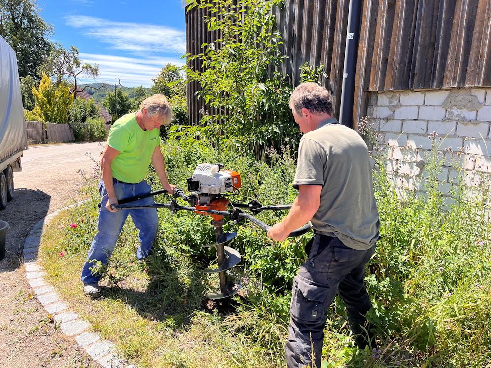Arbeitstrupp des Naturparks