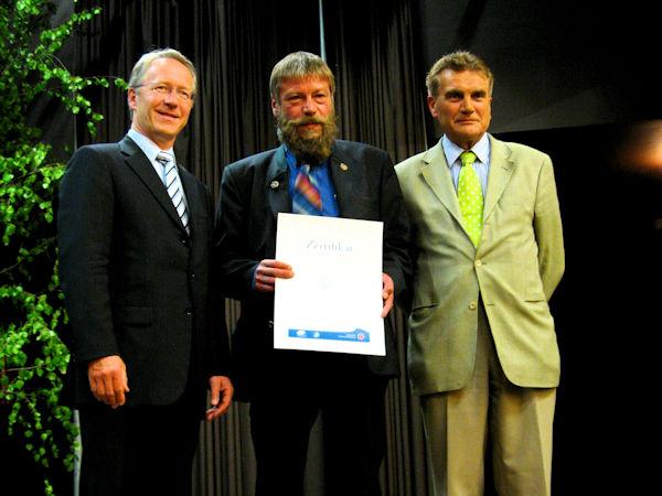 Verleihung der Urkunde zum Qualitäts-Naturpark