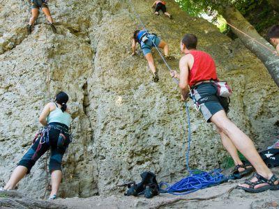 Kletterkurse in der Fränkischen Schweiz ©frankentourismus/frs/hub