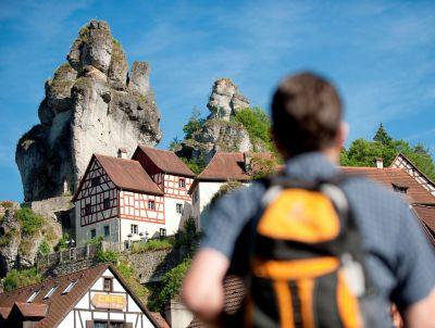 Felsnadeln in Tüchersfeld