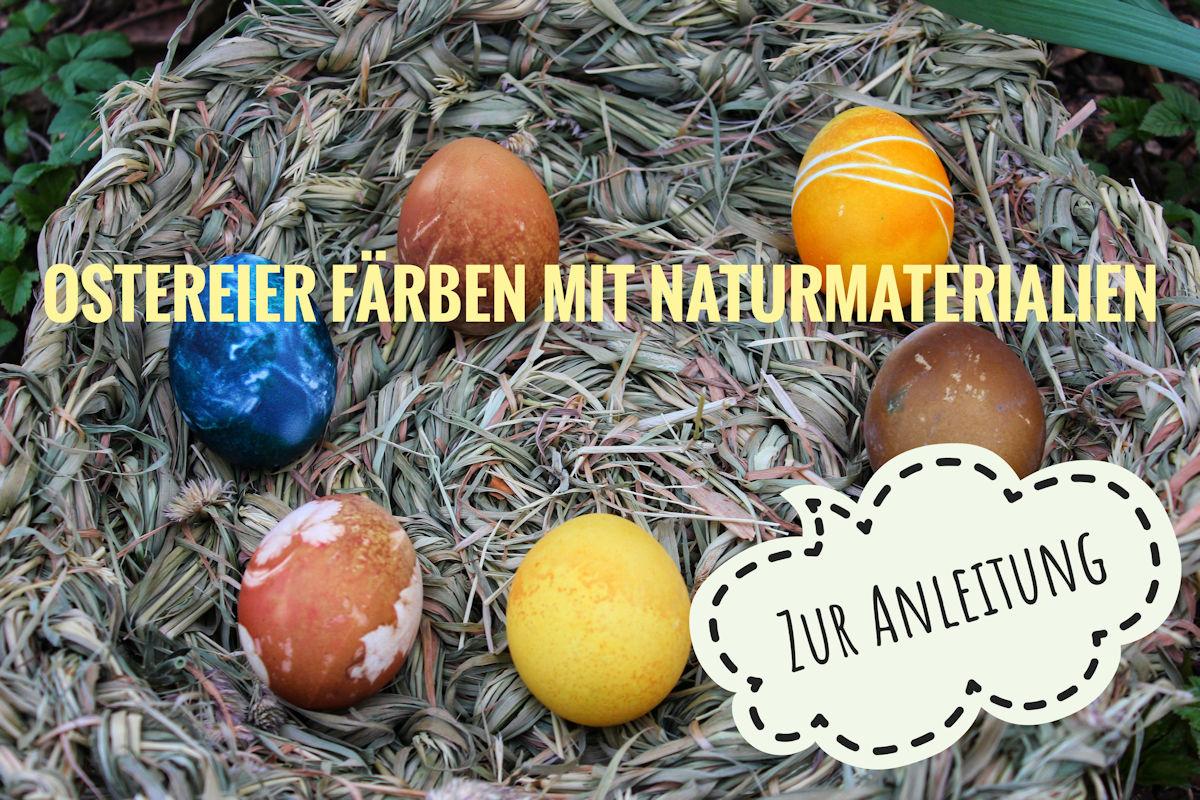 Anleitung zum Ostereier färben