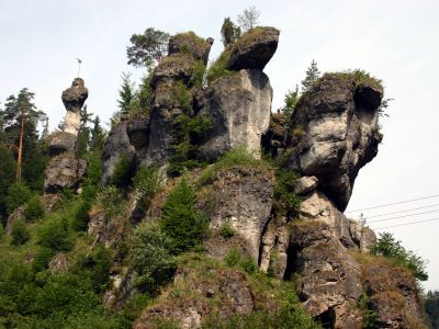 Felsformation im Naturpark