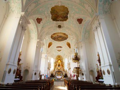 Innenansicht Basilika Gößweinstein