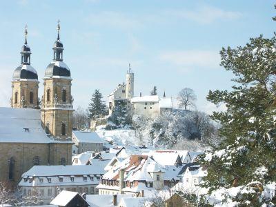 Basilika und Burg Gößweinstein